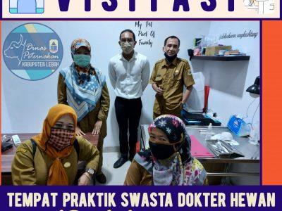 VISITASI TEMPAT PRAKTIK SWASTA DOKTER HEWAN DI RANGKASBITUNG